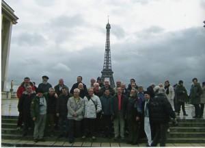 In giro come turisti a Parigi 20 gennaio 2007
