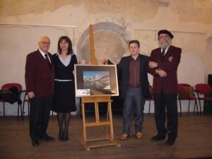 Inaugurazione della mostra fotografica di Luca Baga presso il Palazzo Bentivoglio di Gualtieri (R.E.) dedicata al Monte Cervino- febbraio 2008