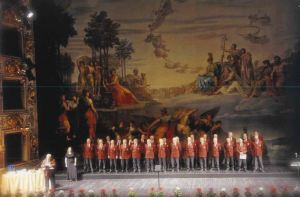 """la corale sul palco del Regio - XXXI edizione della """"Rassegna del Bel Cant"""""""